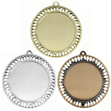Медаль золотого, серебряного и бронзового цвета